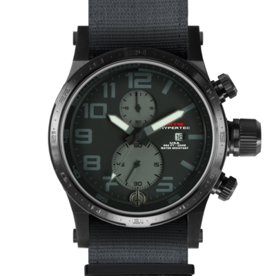 BLACK HYPERTEC CHRONO II (BLACK-GRAY)