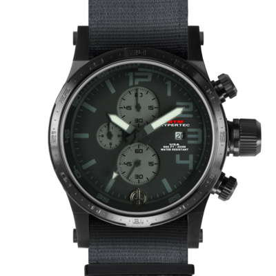 BLACK HYPERTEC CHRONO III (BLACK-GRAY)