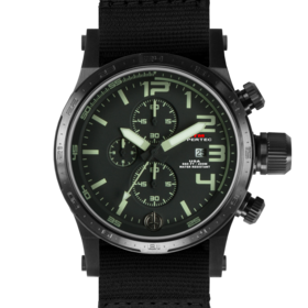 BLACK HYPERTEC CHRONO III (BLACK-LUMI)