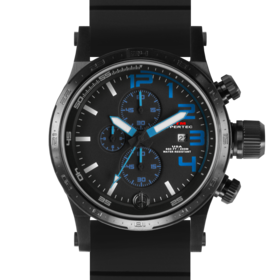 BLACK HYPERTEC CHRONO III (BLUE)