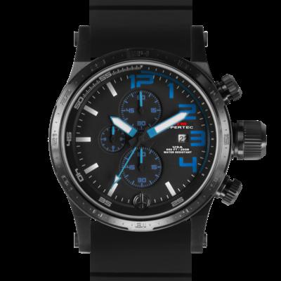BLACK HYPERTEC CHRONO III (BLUE)