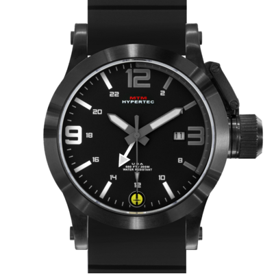 BLACK HYPERTEC GRAY-WHITE DIAL